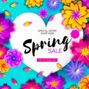 Spring Sale- Items shipped Same Day